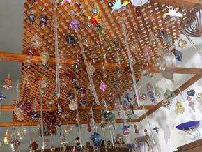Bayouni's Glasdesign Decke