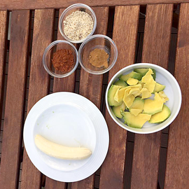 Zutaten für die Vegane Schokonusscreme