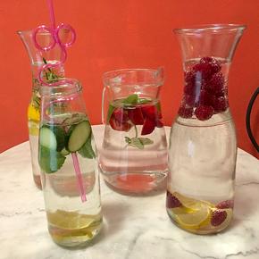 4 verschiedene Getränke